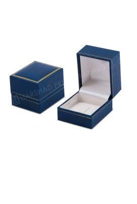 500h Ring Box Blue Croco