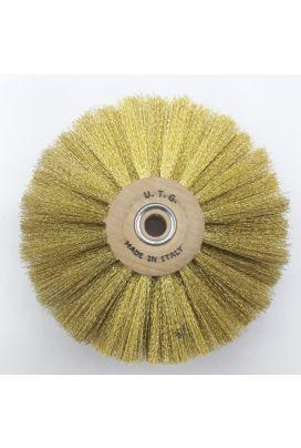 80 MM 4 Line Brass Wire Brush 58108