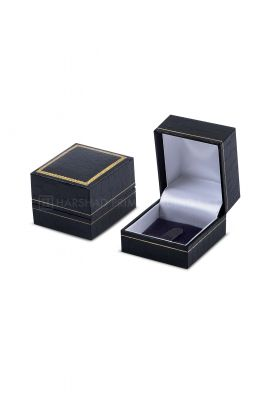 IP 02 Ring Box Black Ch Croco