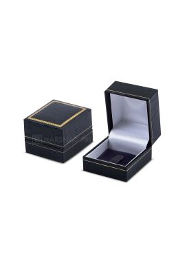 IP 02 Ring Box Black Croco