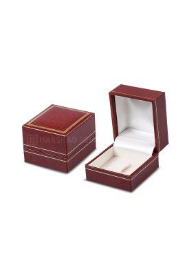 IP 02 Ring Box Red Ch Croco