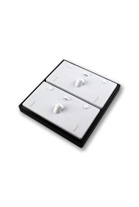 SKD 132 Neck Tray Black White Inside